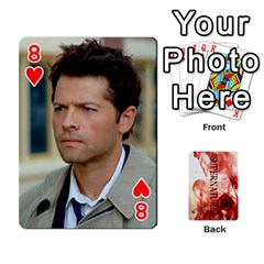 Supernatural Playing Cards By Leigh   Playing Cards 54 Designs   Ucd8gz56z0dn   Www Artscow Com Front - Heart8