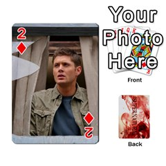 Supernatural Playing Cards By Leigh   Playing Cards 54 Designs   Ucd8gz56z0dn   Www Artscow Com Front - Diamond2