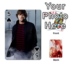 Supernatural Playing Cards By Leigh   Playing Cards 54 Designs   Ucd8gz56z0dn   Www Artscow Com Front - Spade5