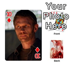 Supernatural Playing Cards By Leigh   Playing Cards 54 Designs   Ucd8gz56z0dn   Www Artscow Com Front - Diamond10