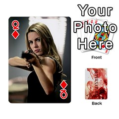 Queen Supernatural Playing Cards By Leigh   Playing Cards 54 Designs   Ucd8gz56z0dn   Www Artscow Com Front - DiamondQ