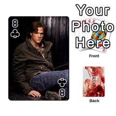 Supernatural Playing Cards By Leigh   Playing Cards 54 Designs   Ucd8gz56z0dn   Www Artscow Com Front - Club8