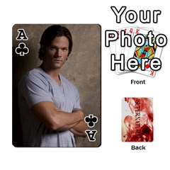 Ace Supernatural Playing Cards By Leigh   Playing Cards 54 Designs   Ucd8gz56z0dn   Www Artscow Com Front - ClubA