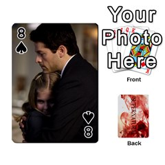 Supernatural Playing Cards By Leigh   Playing Cards 54 Designs   Ucd8gz56z0dn   Www Artscow Com Front - Spade8