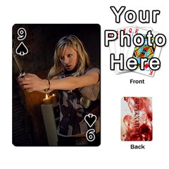 Supernatural Playing Cards By Leigh   Playing Cards 54 Designs   Ucd8gz56z0dn   Www Artscow Com Front - Spade9