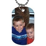 Dog Tag Necklace - Dog Tag (One Side)