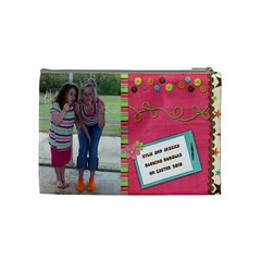 Kylie Cosmetic Bag By Kellie Simpson   Cosmetic Bag (medium)   Lp3lwaefoyrn   Www Artscow Com Back