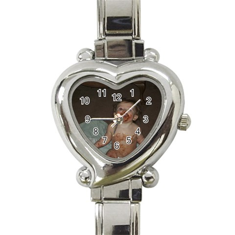 Heart Italian Charm Watch By Tonya Smith   Heart Italian Charm Watch   Jc1xqpa7y5xu   Www Artscow Com Front