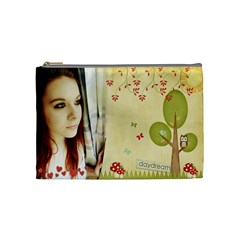 Courtnie Cosmetic Bag By Kellie Simpson   Cosmetic Bag (medium)   Ioomlm1k9i1v   Www Artscow Com Front