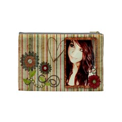 Courtnie Cosmetic Bag By Kellie Simpson   Cosmetic Bag (medium)   Ioomlm1k9i1v   Www Artscow Com Back