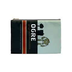 Ogre & Melee Bag By Mathieu Perreault Dorion   Cosmetic Bag (medium)   8xumyo4bvh3v   Www Artscow Com Front