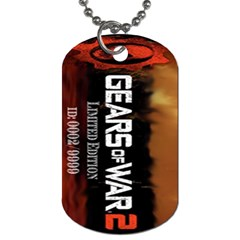 Gears Of War 2 By Alexander Stephens   Dog Tag (two Sides)   2pc5twjmvme6   Www Artscow Com Front