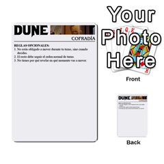 Dune By Pedrito   Multi Purpose Cards (rectangle)   3mzbd6fts7ji   Www Artscow Com Back 52