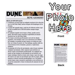 Dune By Pedrito   Multi Purpose Cards (rectangle)   3mzbd6fts7ji   Www Artscow Com Back 53