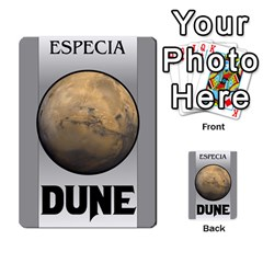 Dune By Pedrito   Multi Purpose Cards (rectangle)   3mzbd6fts7ji   Www Artscow Com Back 41