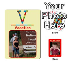 Abc Family Cards2 By Debra Macv   Playing Cards 54 Designs   Xs5w685yl7hb   Www Artscow Com Front - Club9