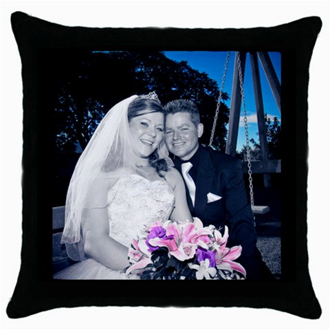 Pillow Case  By Jason   Throw Pillow Case (black)   W9ewusblx3cr   Www Artscow Com Front