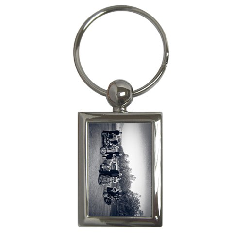 Key Ring I Mentioned By Jason   Key Chain (rectangle)   9wy9l72fsvbg   Www Artscow Com Front