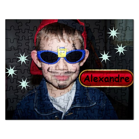Puzzle   Alex By Christine Marleau   Jigsaw Puzzle (rectangular)   Rkss1oofx4op   Www Artscow Com Front