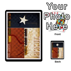Ttr Texas Tickets By Peter Hendee   Playing Cards 54 Designs   7fe7fp5xlv34   Www Artscow Com Back