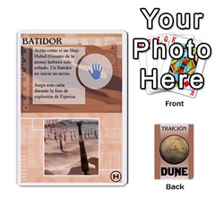 Dune 2 By Pedrito   Playing Cards 54 Designs   Bak0zen7eu3z   Www Artscow Com Front - Spade2