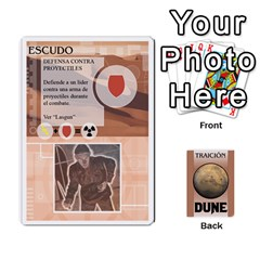 Dune 2 By Pedrito   Playing Cards 54 Designs   Bak0zen7eu3z   Www Artscow Com Front - Heart3
