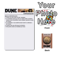 Dune 2 By Pedrito   Playing Cards 54 Designs   Bak0zen7eu3z   Www Artscow Com Front - Club10