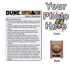Queen Dune 2 By Pedrito   Playing Cards 54 Designs   Bak0zen7eu3z   Www Artscow Com Front - ClubQ