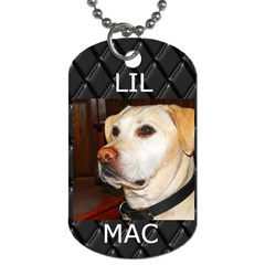 Mactag By Jessica   Dog Tag (two Sides)   Aursd3mx0cub   Www Artscow Com Back