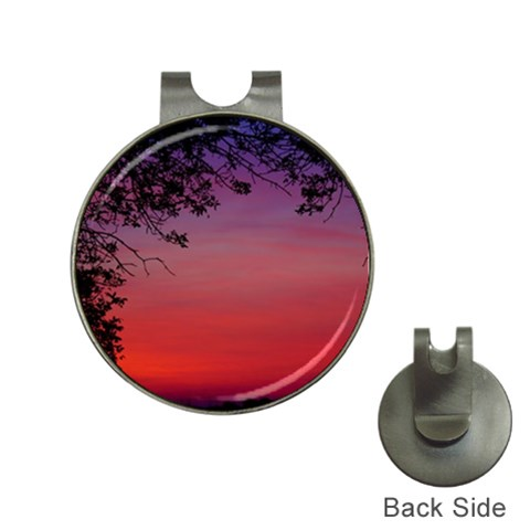 Sunriseclip By Jennifer Sneed   Golf Ball Marker Hat Clip   Ek80jdxz04e8   Www Artscow Com Front