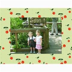 Cherry Calendar By Dania Mcalister   Wall Calendar 11  X 8 5  (12 Months)   T5pvz86qnkrx   Www Artscow Com Month