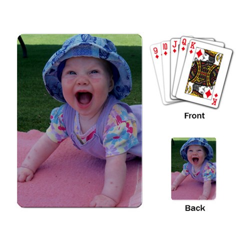Heidi Cards By Gretchen Probst   Playing Cards Single Design   Nstjzoz7pahu   Www Artscow Com Back