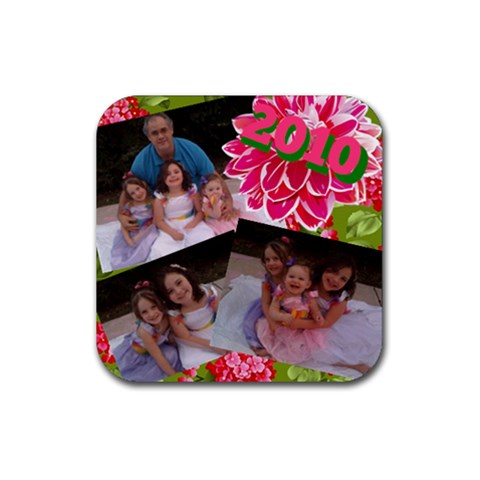 Easter Coaster By Kristen   Rubber Coaster (square)   6ro1w2lptqdd   Www Artscow Com Front