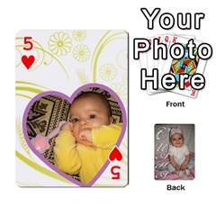 Card By Asya   Playing Cards 54 Designs   6tvz73t9dlff   Www Artscow Com Front - Heart5