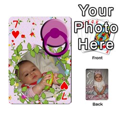Card By Asya   Playing Cards 54 Designs   6tvz73t9dlff   Www Artscow Com Front - Heart7