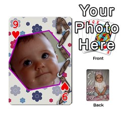 Card By Asya   Playing Cards 54 Designs   6tvz73t9dlff   Www Artscow Com Front - Heart9