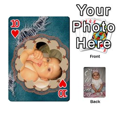 Card By Asya   Playing Cards 54 Designs   6tvz73t9dlff   Www Artscow Com Front - Heart10
