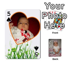 Card By Asya   Playing Cards 54 Designs   6tvz73t9dlff   Www Artscow Com Front - Spade5