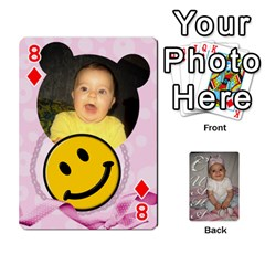 Card By Asya   Playing Cards 54 Designs   6tvz73t9dlff   Www Artscow Com Front - Diamond8