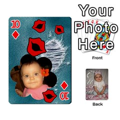 Card By Asya   Playing Cards 54 Designs   6tvz73t9dlff   Www Artscow Com Front - Diamond10