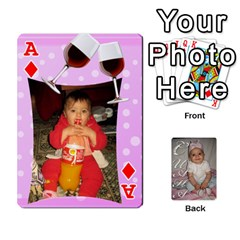 Ace Card By Asya   Playing Cards 54 Designs   6tvz73t9dlff   Www Artscow Com Front - DiamondA