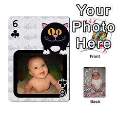 Card By Asya   Playing Cards 54 Designs   6tvz73t9dlff   Www Artscow Com Front - Club6