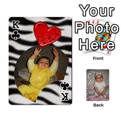 King Card By Asya   Playing Cards 54 Designs   6tvz73t9dlff   Www Artscow Com Front - ClubK