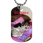 ginger - Dog Tag (One Side)
