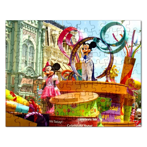 Parade Puzzle By Julie   Jigsaw Puzzle (rectangular)   08sg0bokq9yb   Www Artscow Com Front