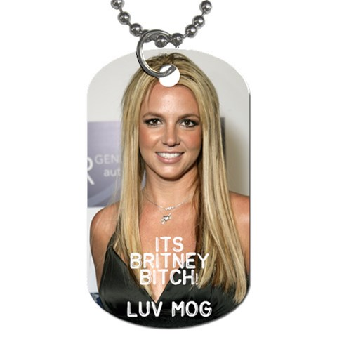 Ashleigh s Dog Tag By Kimberly Phelan   Dog Tag (one Side)   V7jnwhcvq3rh   Www Artscow Com Front