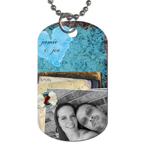 Dog Tag By Jamie   Dog Tag (one Side)   1k0w4cb7t4ep   Www Artscow Com Front