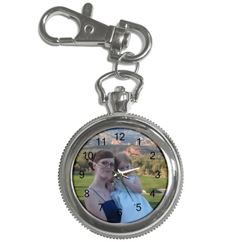 Keychain Watch By Vicki Rockett   Key Chain Watch   O2r6x50p1y92   Www Artscow Com Front