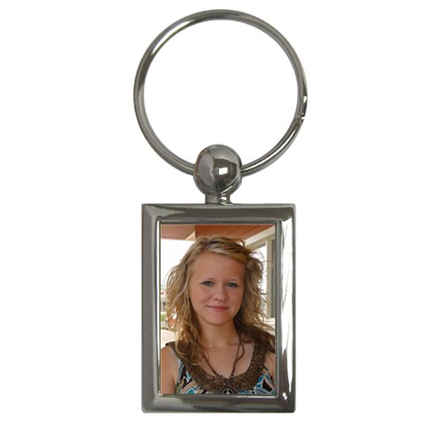 Rectangle Key Chain by Kellie Simpson Front