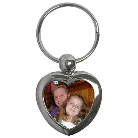 Heart Key Chain By Kellie Simpson   Key Chain (heart)   7c9xpe3ejhmx   Www Artscow Com Front